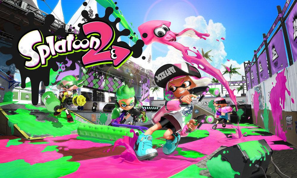 Nintendo Splatoon (C) BagoGames