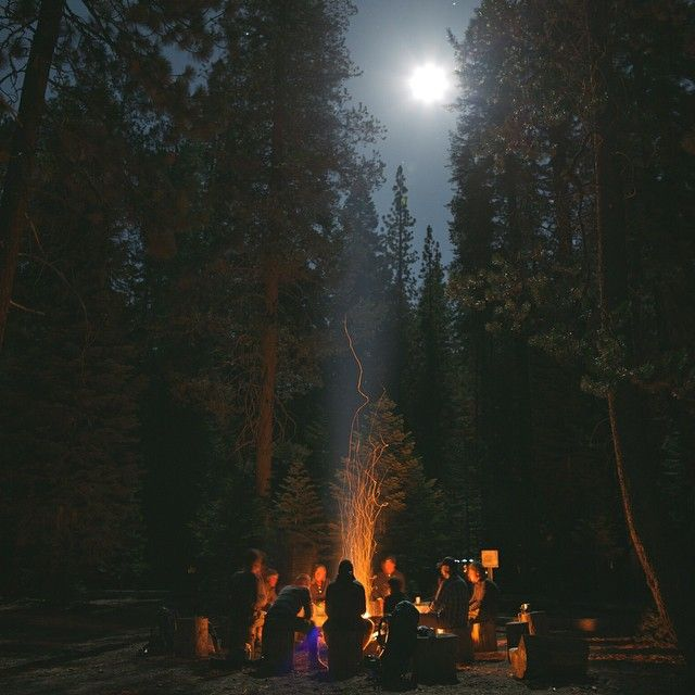NIGHTLIFE - We end our day with a fun filled night. Campfire,chilling, having fun and celebrating life!