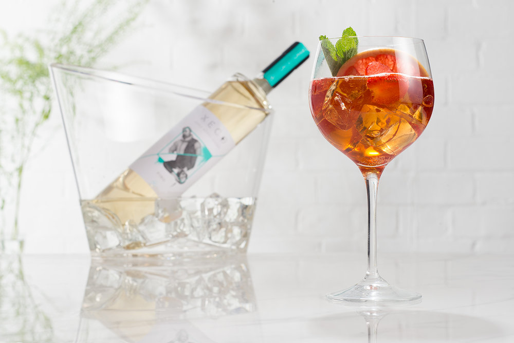 XECO SPRITZ - Fino sherry, sweet vermouth, Aperol, a dash of soda water