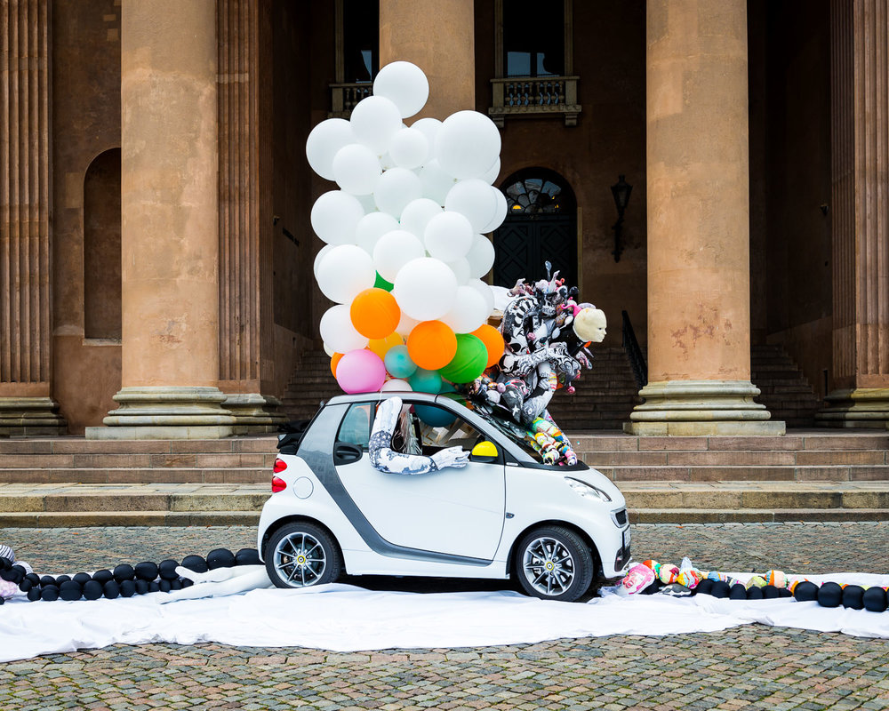 Installations for Smart Car / Bo Concept, Copenhagen, 2013