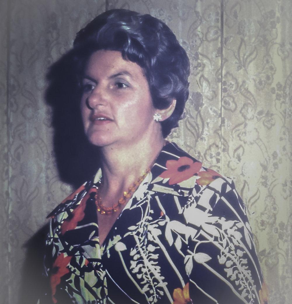 My grandmother Edna.