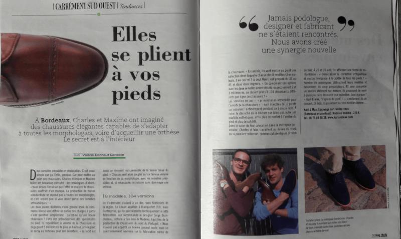 - SudOuest Mag le 01/04/2017 -