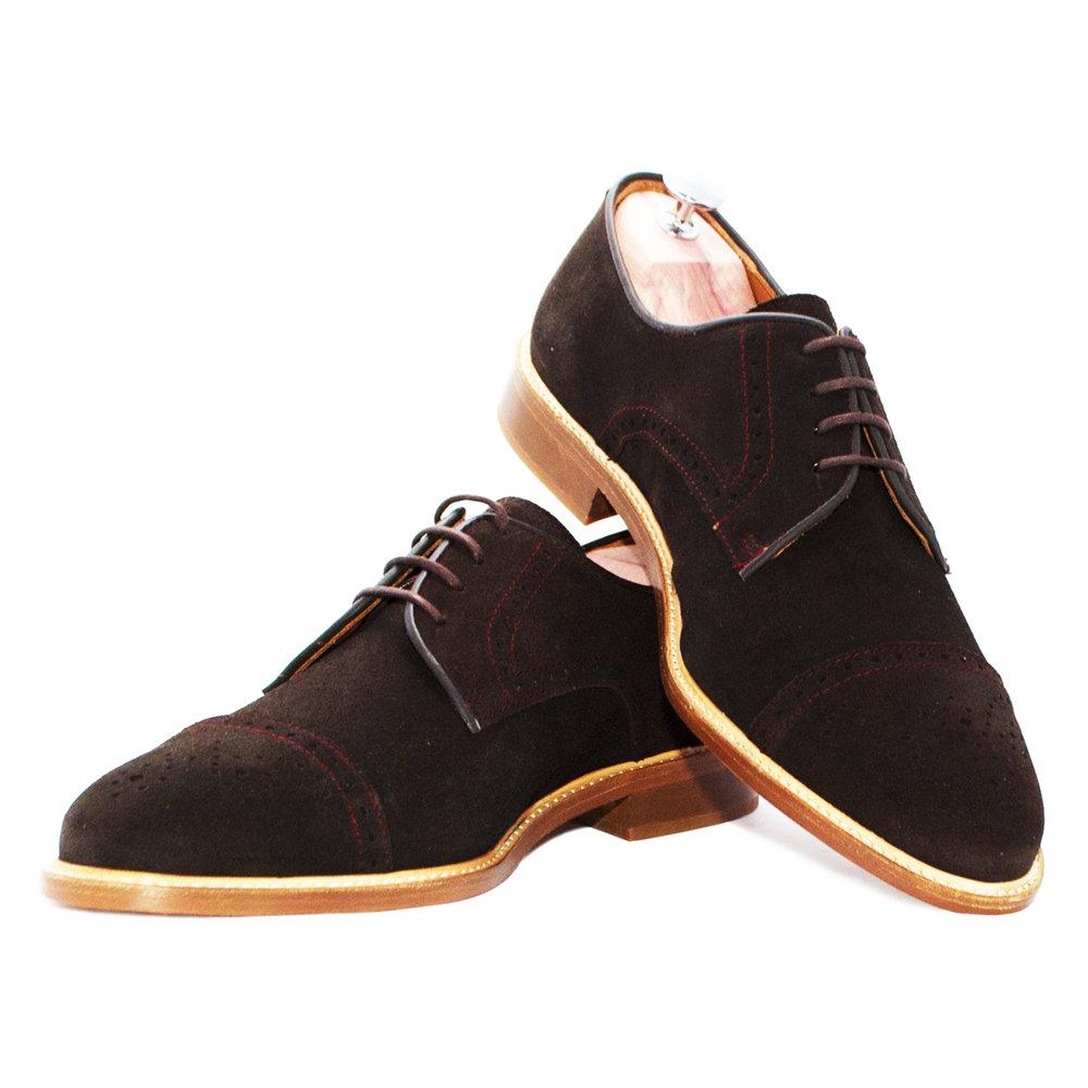 Graham Chocolat - Chaussure de ville hommeCuirs Velours220€
