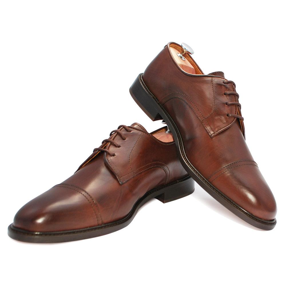 Théophile Marron - Chaussure de ville hommeCuir Nappa220€