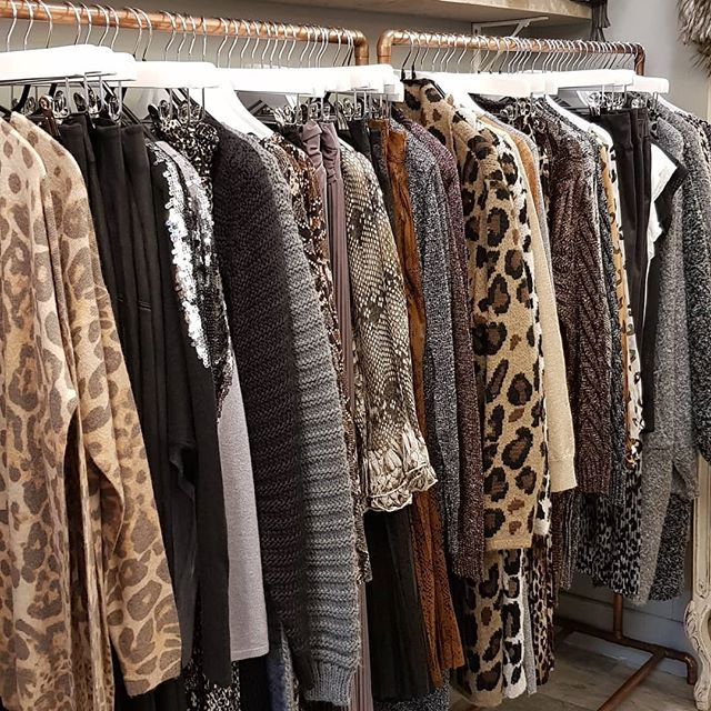 Animal print & sparkle - All in-store now