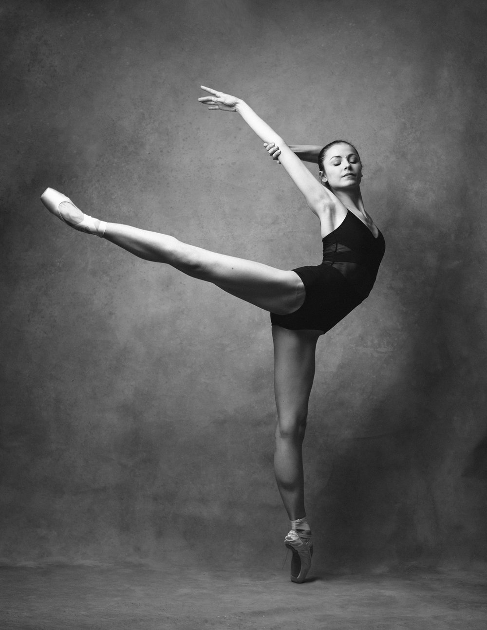 Hannah Williams, BC Ambassador for the Dutch National Ballet modelling the Chelsy No. 17 leotard