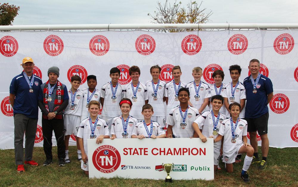 D3 U15 Boys Champion - AYSO United 04 Boys