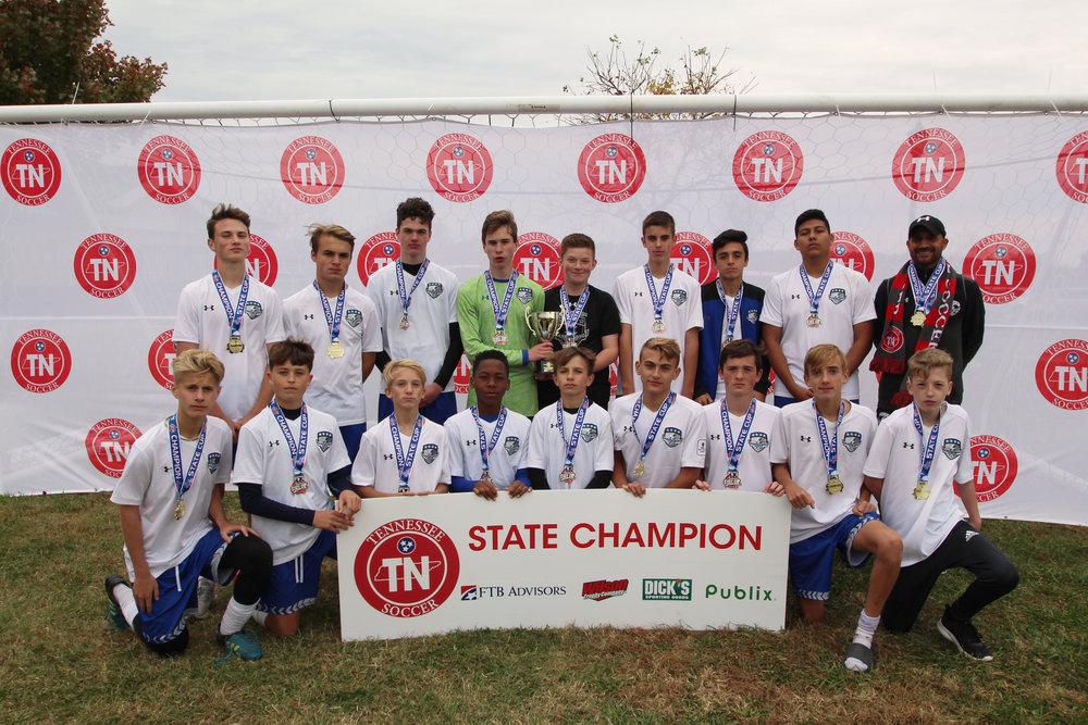 D2 U15 Boys Champion - 2004 MSC Strikers Premier