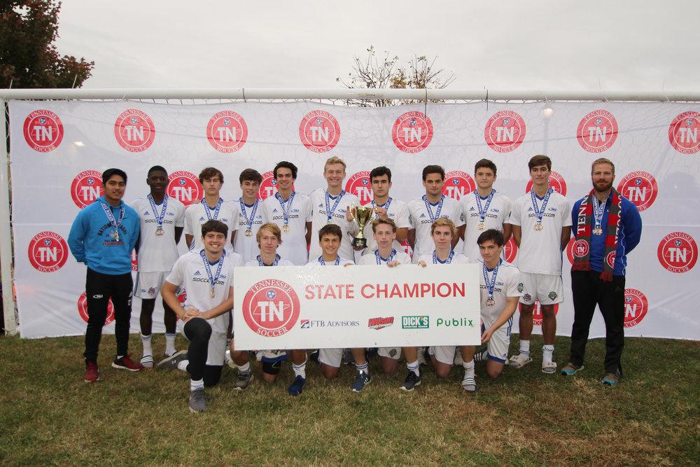 D1 U18 Boys Champion - 01 Lobos Rush Premier