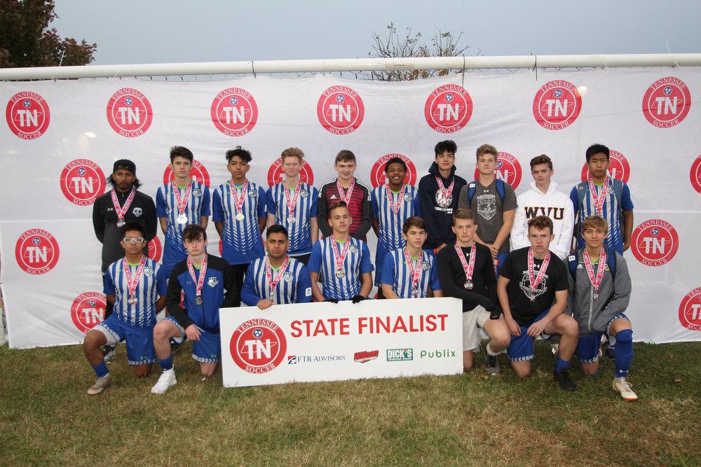 D2 U17 Boys Finalist - 2002 MSC Strikers Premier