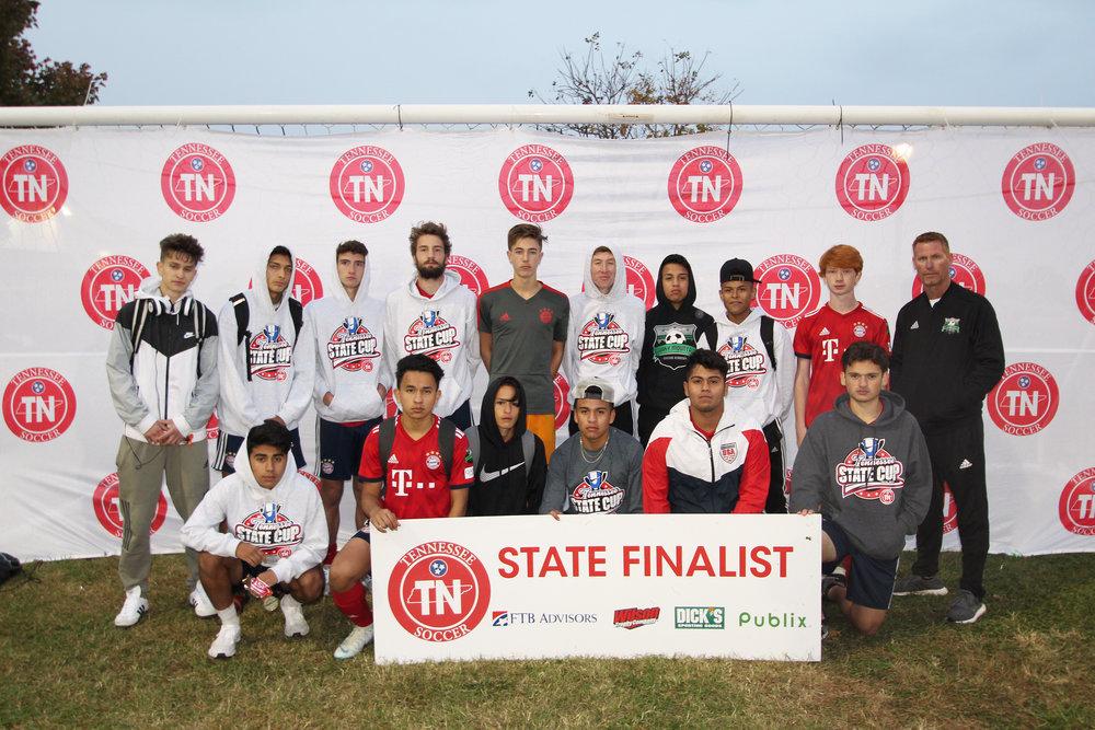 D2 U18 Boys Finalist - Smokey Mountain Soccer Academy BU18 Bayern