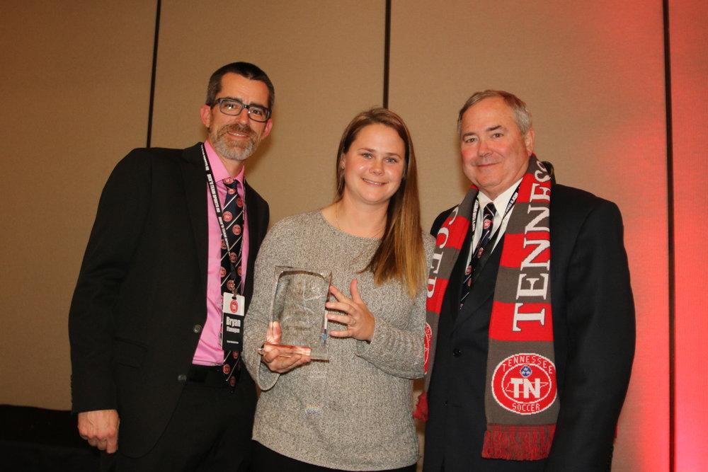 Britt Balkcom-TOPS Coach of the Year(accepted by Julia Osmond)