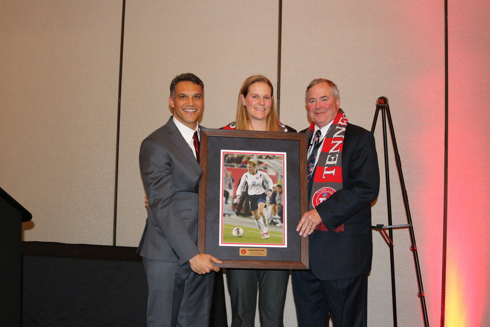 Cindy Parlow Cone- 2019 Hall of Fame Inductee