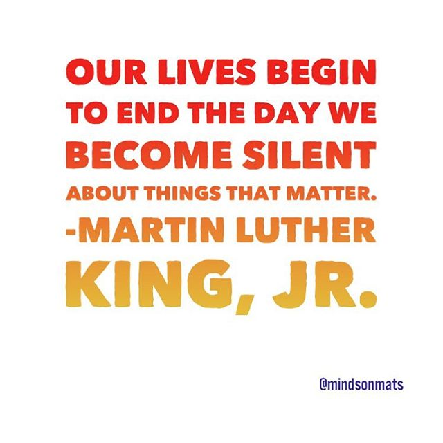Happy MLK Day! 💪🏾This is a perfect time to reflect on what matters to you. Our passion is #equity and #inclusion in schools. Check our link 👆🏾to learn more from @npr on How The Systemic Segregation Of Schools Is Maintained By 'Individual Choices' and 👇🏽 drop us a comment on what matters to you 💙