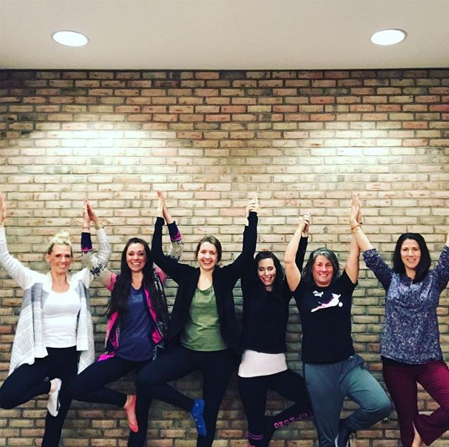 Proud to say we just graduated some amazing new @weareyogaed Educators! Excited for these women to lead yoga education at their schools and in their communities! 💙✌🏽