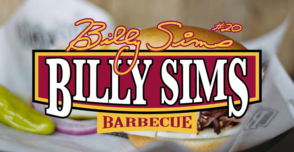 Billy Sims Barbecue Website