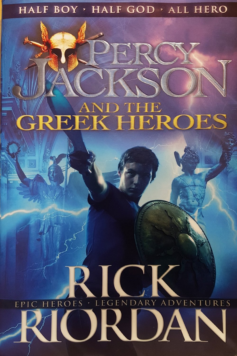 Percy Jackson & the Greek Heroes - Rick Riordan