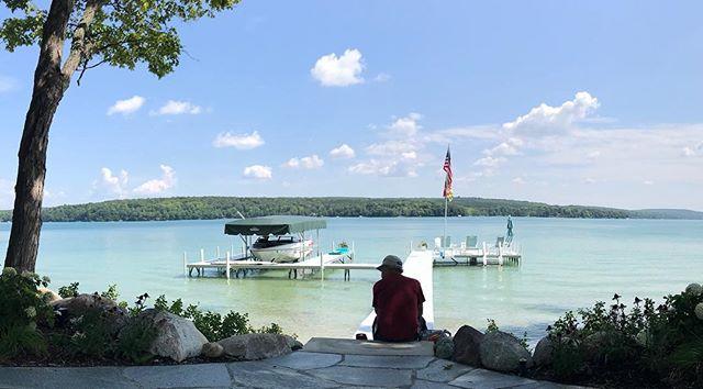 Hard to beat lunch break views like this! #walloonlake #puremichigan