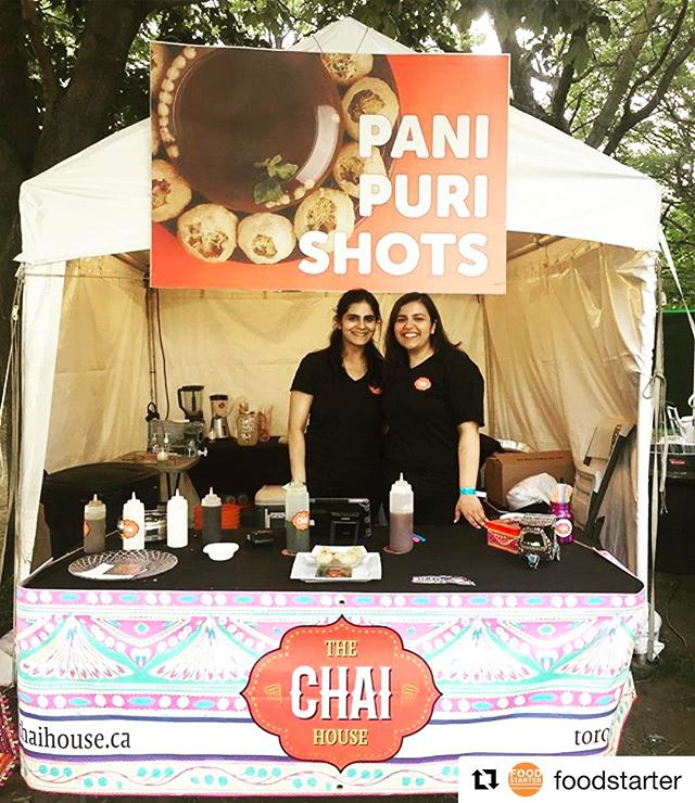 A great weekend at @tasteoftoronto Thank you to everyone who stopped by our booth and tried our unique spin on Indian street food - Pani Puri Shots #toronto #panipurishots #panipuritoronto #thechaihouse #indianstreetfood #tasteoftoronto