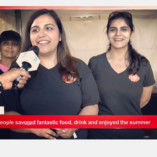Great weekend at @tasteoftoronto serving Pani Puri Shots. Thank you @zeetv for an awesome interview with The Chai House team! #panipurishots #tasteoftoronto #thechaihouse #panipuritoronto #indianstreetfood #food #smile #toronto #foodcatering #chaiTO #chaibae