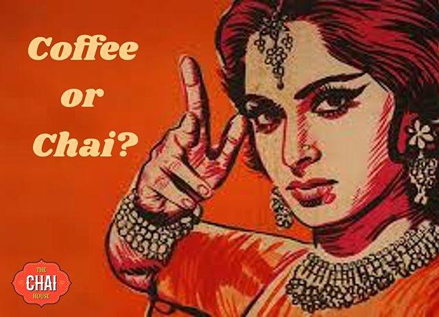 Morning debate continues... Coffee or Chai - what's your caffeine fix? . . . . . #morning #coffee #chaiTO #chaibae #butfirstcoffee #☕️#karakchai #morningfix #caffeine #coffeeaddict #chaiaddict #coffeevstea #thechaihouse #love #instagood #mornings #tea #barista #beautiful #instacoffee