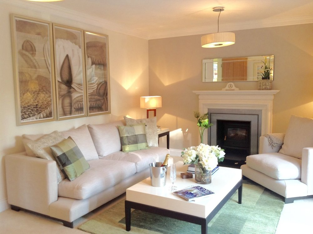 Show Home for Bewley Homes PLC, St George's Court, Pangbourne - Reception Room