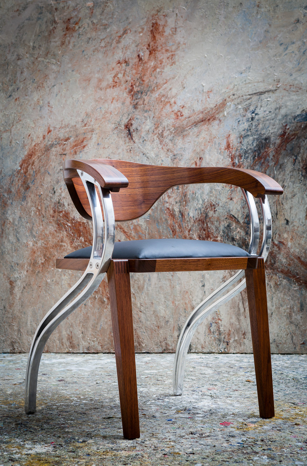Parlare Dining Chair by Sebastian Blakeley