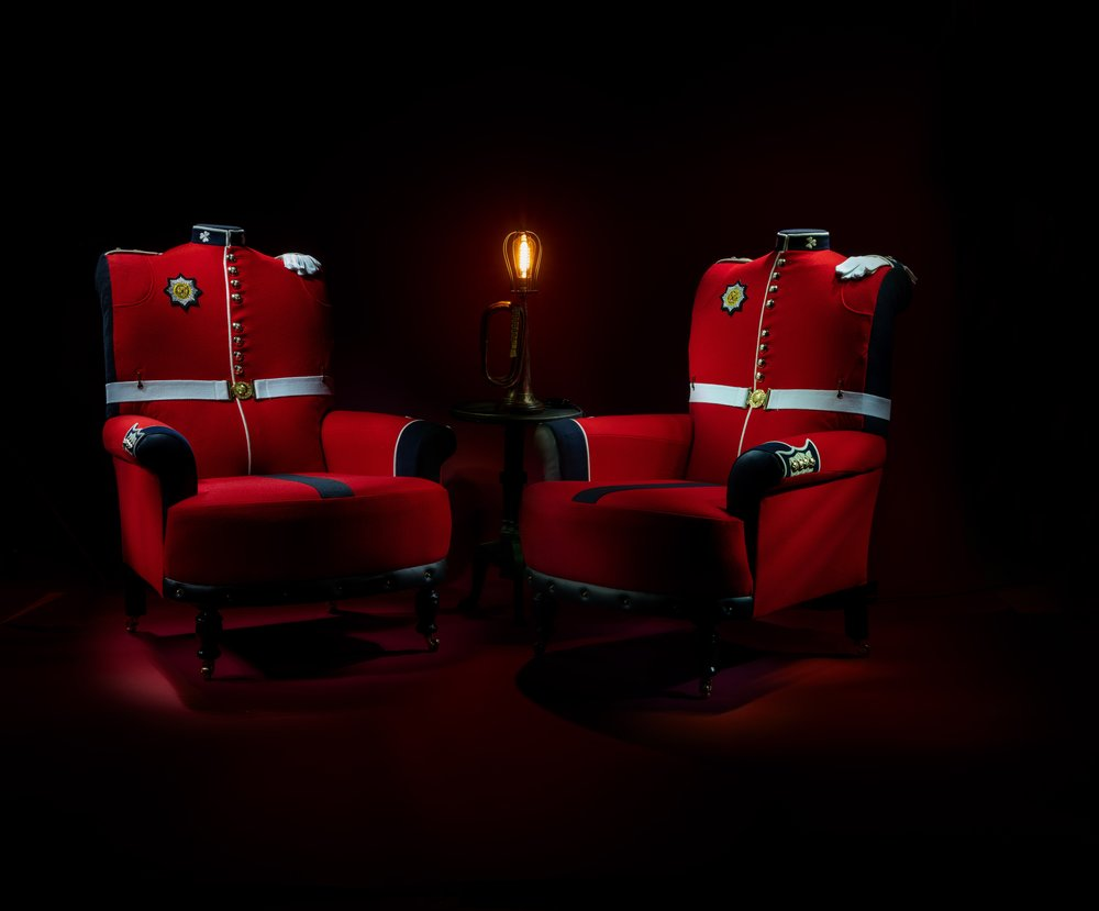 The Royal Couple by Rhubarb Chairs