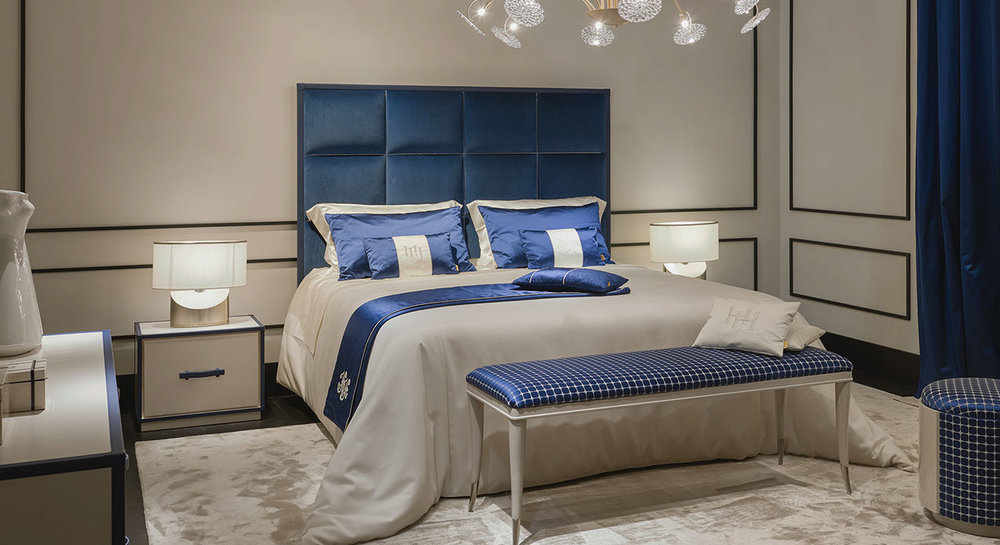 Voyage Bedside Tables (shown with the Arthur Bed