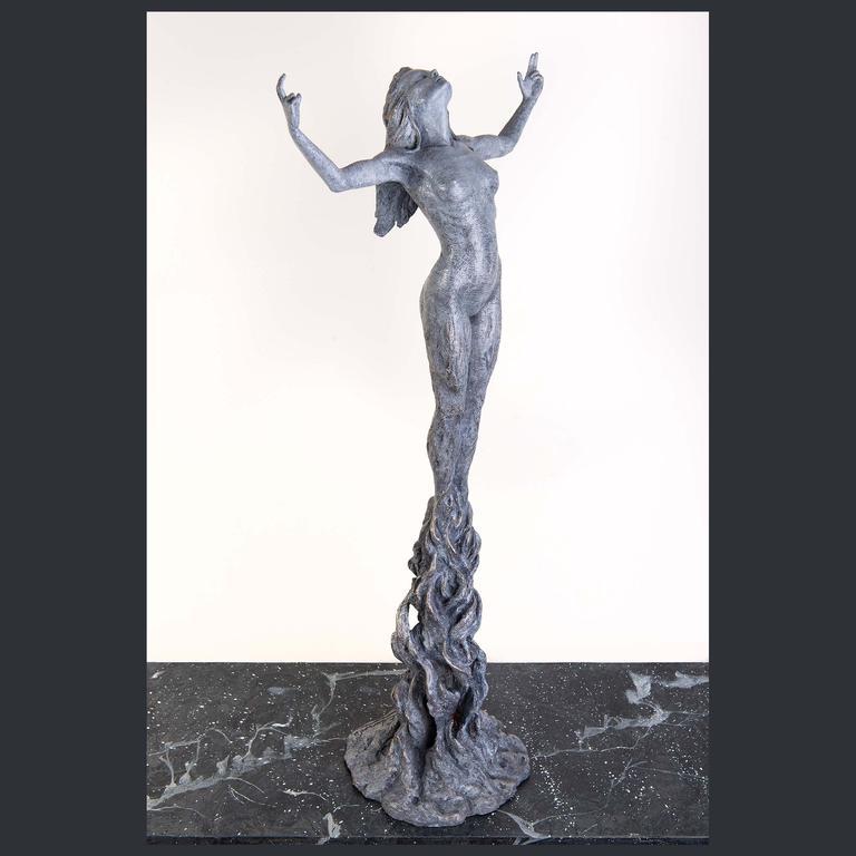 Born Within Fire Bronze Sculpture - Ian Edwards