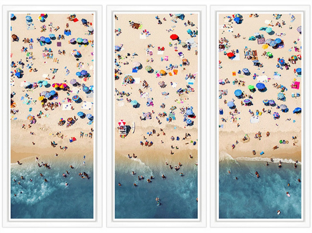 Aerial Summer Beach