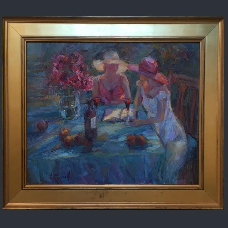 Red Wine - Diane Leonard (Original)