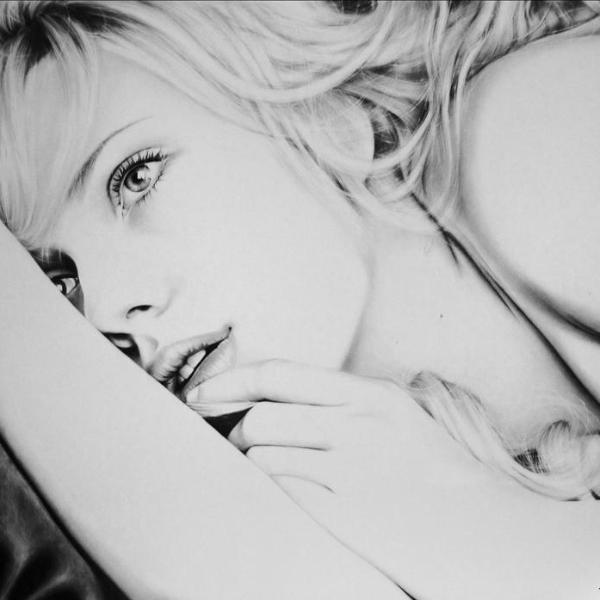 Scarlett Johansson (original) - Joanna Ladowska