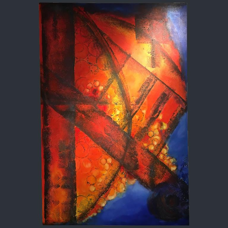 Abstract Colour - Mike Janes