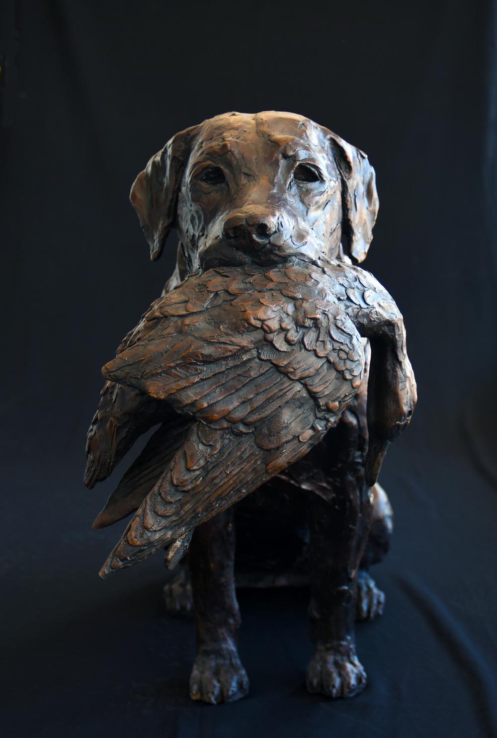 Labrador & Duck - Bruce Little