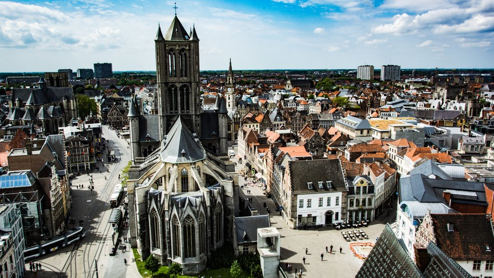 brussels + ghent -