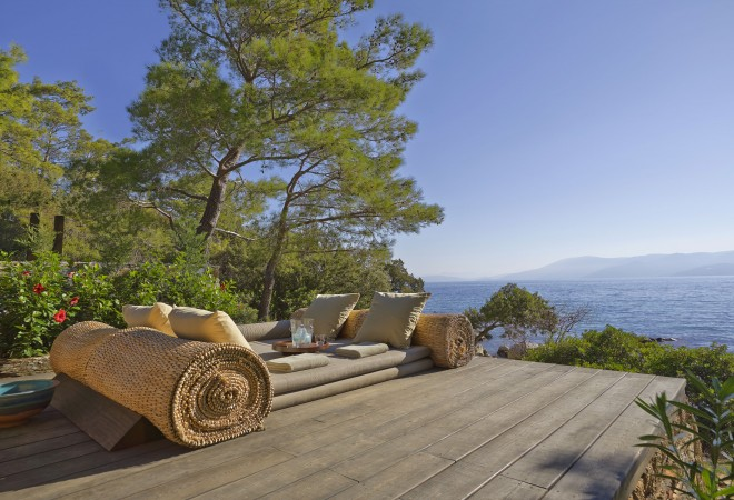 AEGEAN coast -