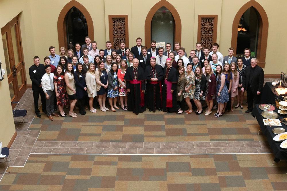 2018-04-22 Apostolic Nuncio Visits Newman-006.jpg