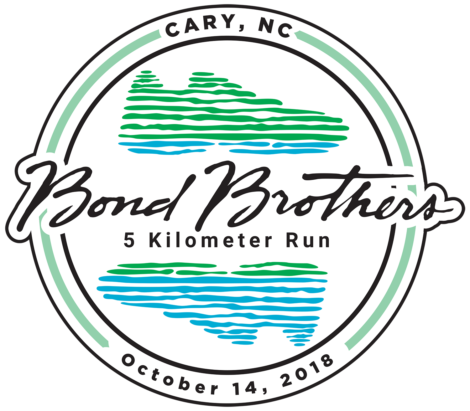 Race T Shirt Sponsor SOLD OUT Bond Brothers 5K