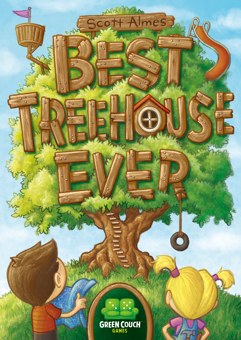Box Cover Best Treehouse Ever