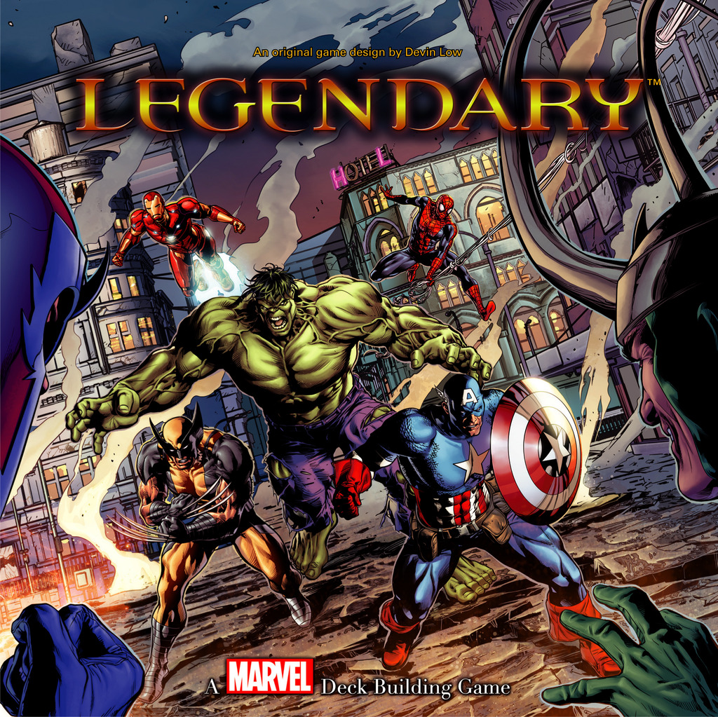 Upper Deck's Marvel Legendary