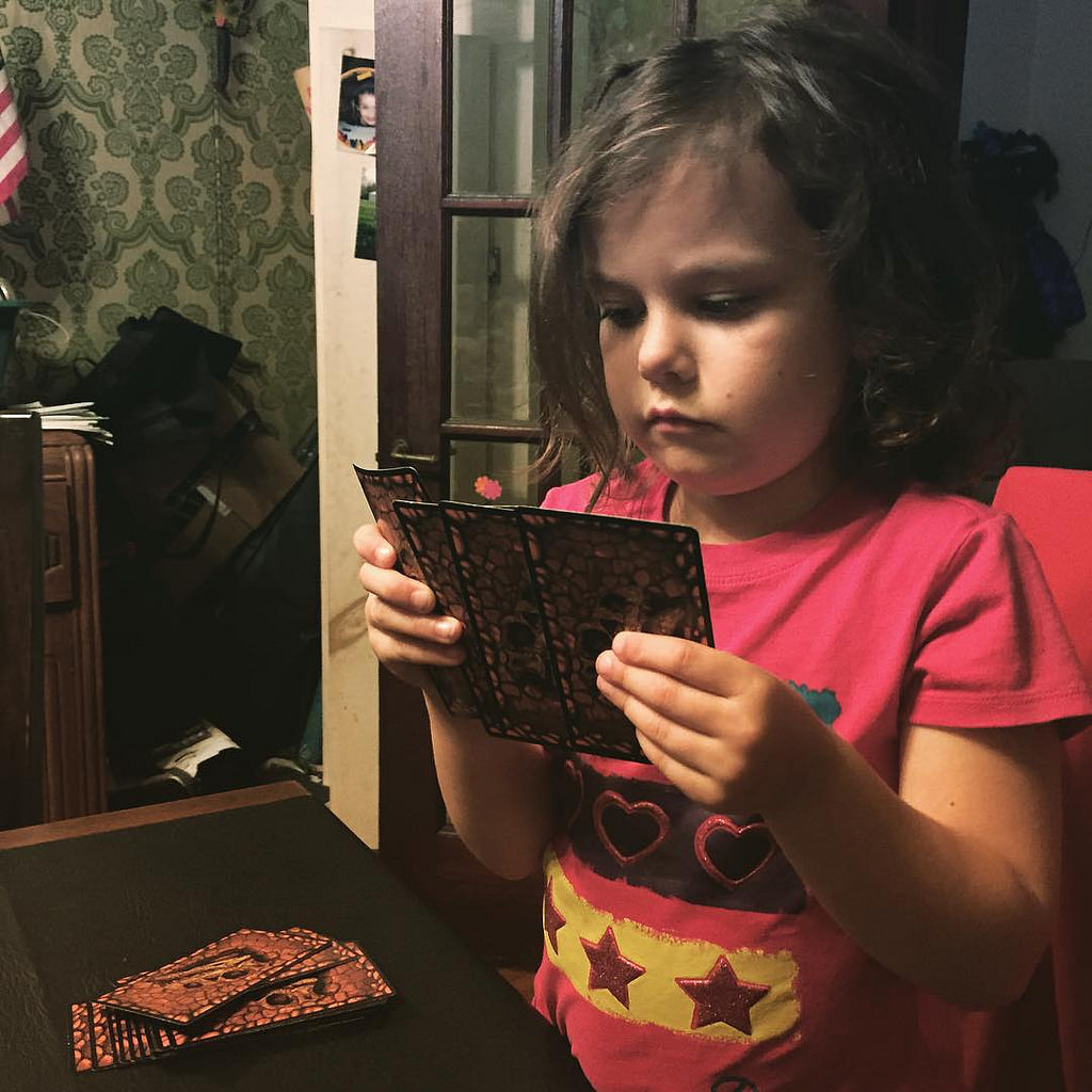 AnnaBeth Learning the Cards