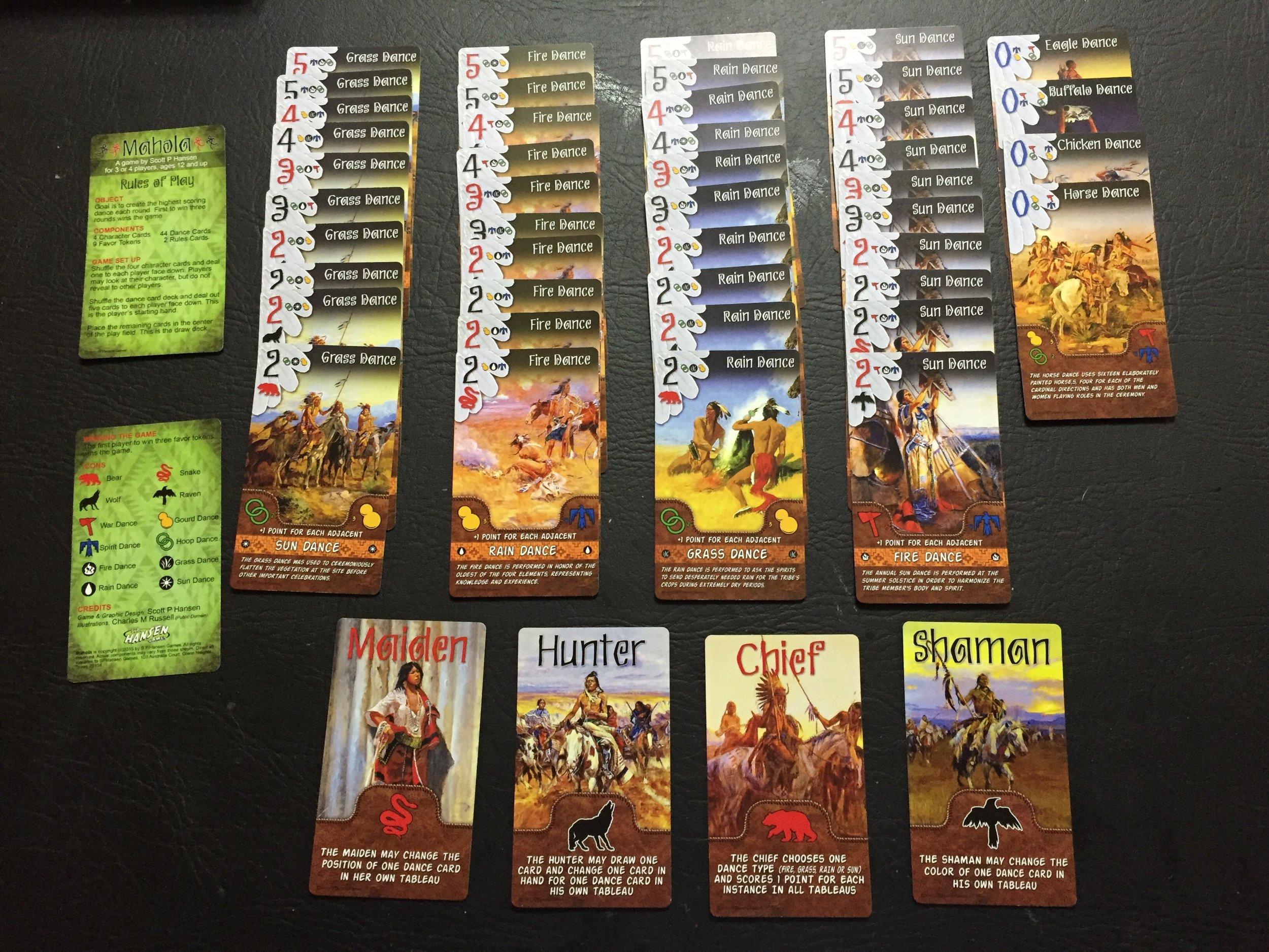 Mahola Cards