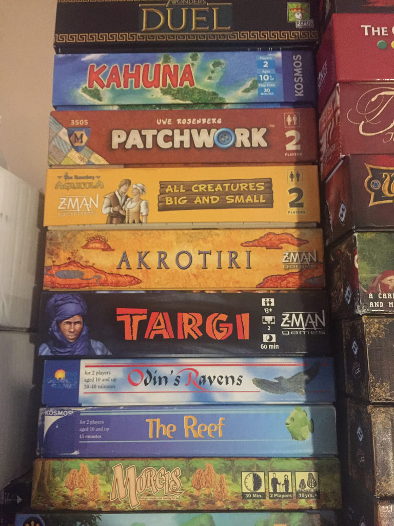 Two player stack