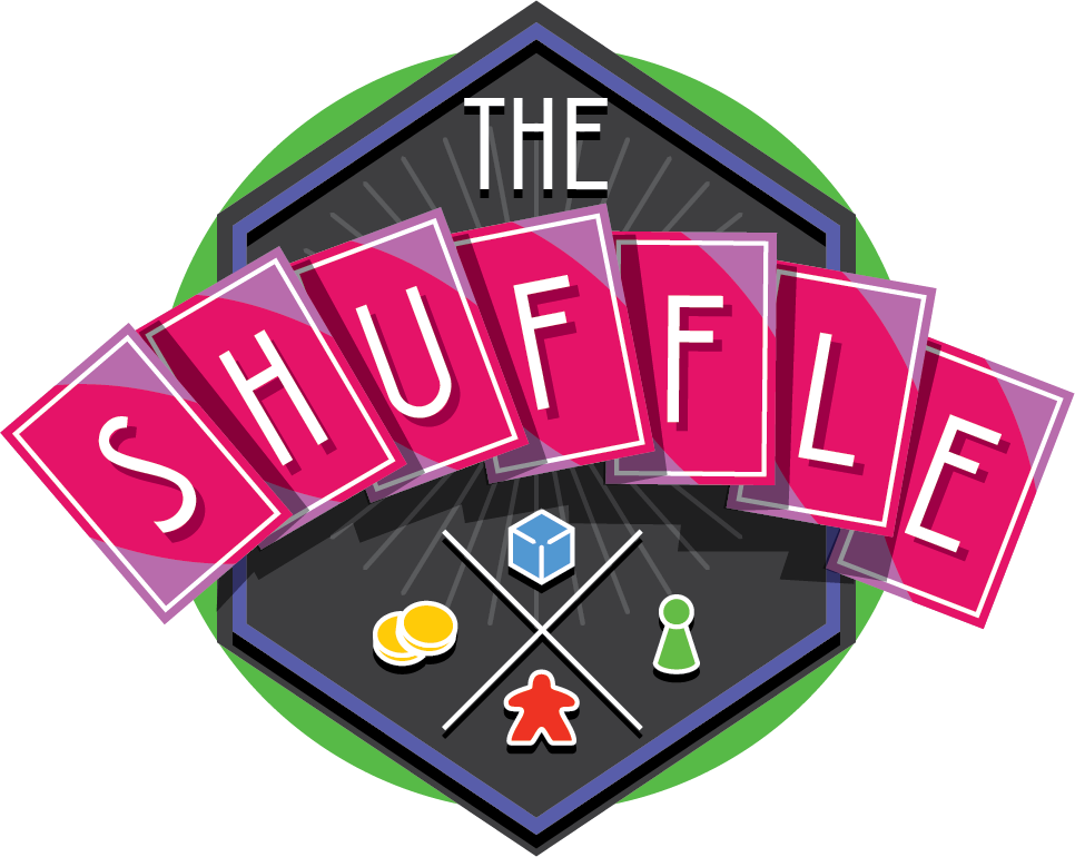 The Shuffle - The Shuffle is a monthly audio magazine giving you insight into the world of board gaming. A host of contributors from around the hobby keep you in the loop with what is happening -- News, Reviews, Interviews and Opinion Pieces -- The Shuffle is your monthly stop to stay informed and entertained.
