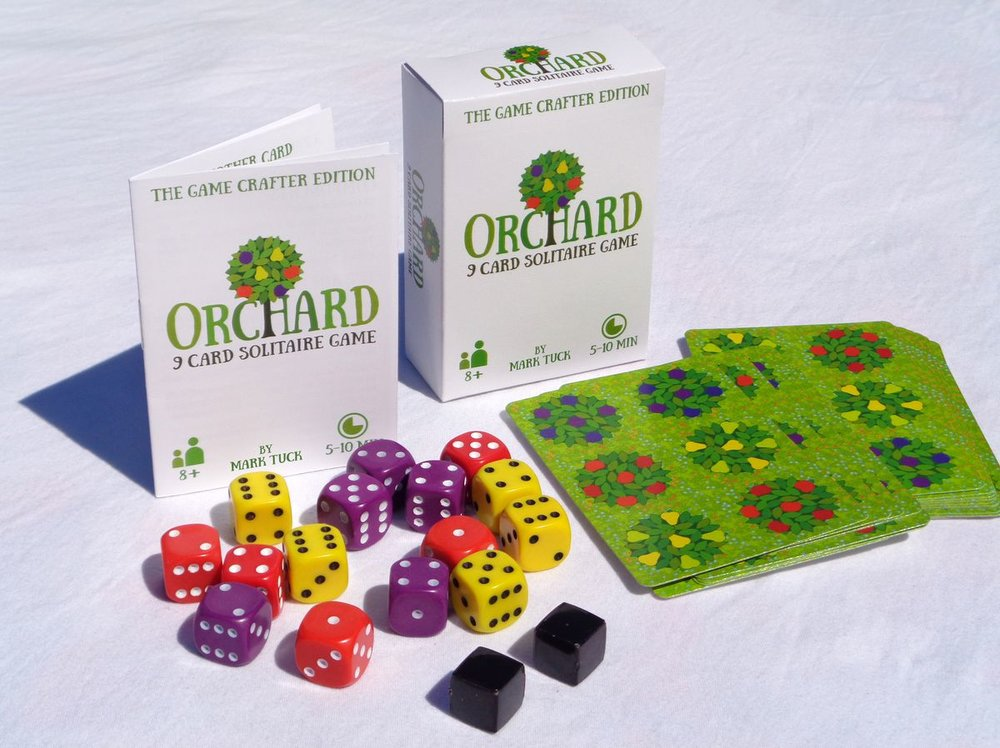 orchard a 9 card solitaire game review by nick o neill what did