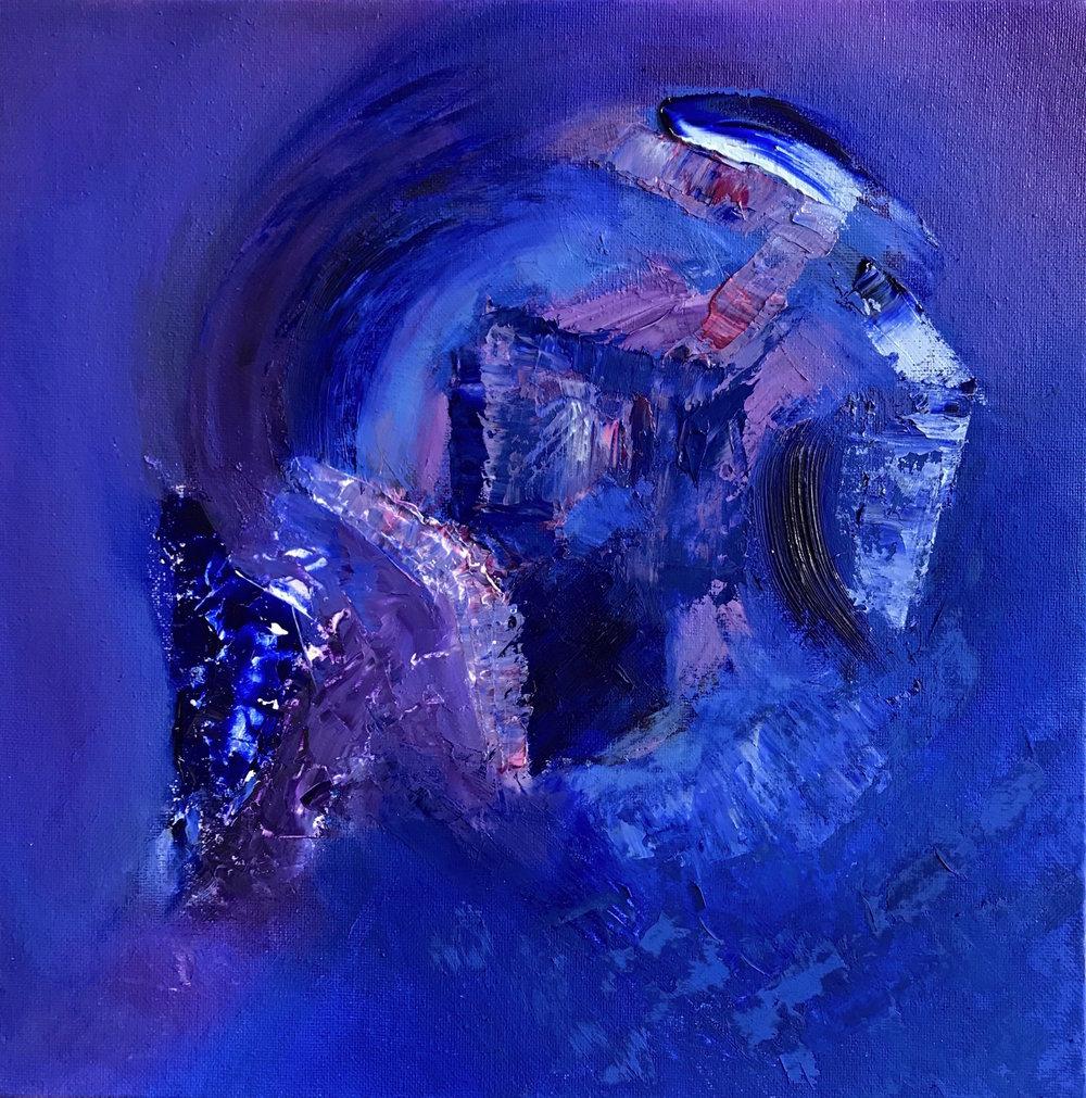 Entropy, 2017 Oil and Acrylic on Canvas -