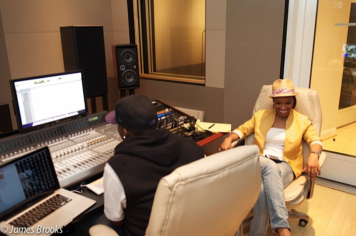 Tina B at Wire Roads Studio with Issac Chill Yoman.jpg