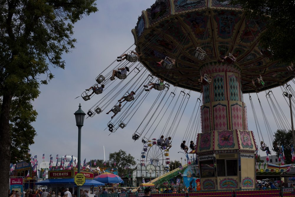 Minnesota State Fair 50mm lens, 1/3200, f8, ISO 400
