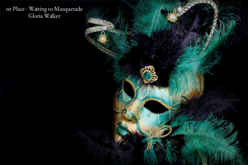 Waiting to Masquerade Gloria Walker 1st.jpg